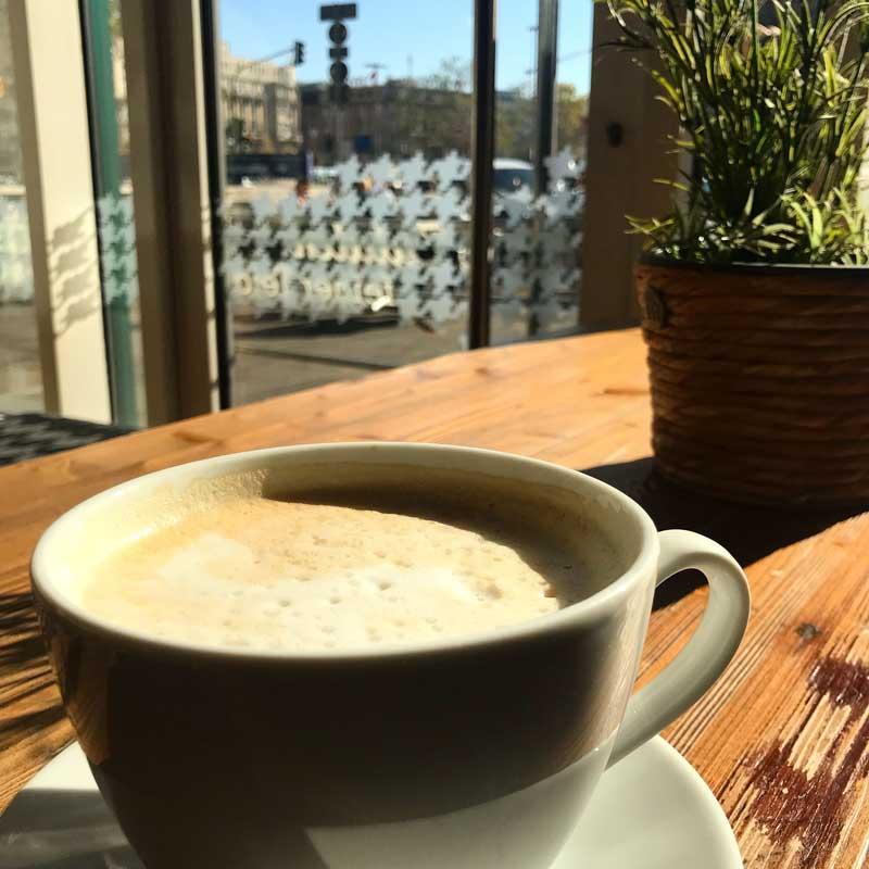 Kaffee in Leipzig. Oder überall anders.