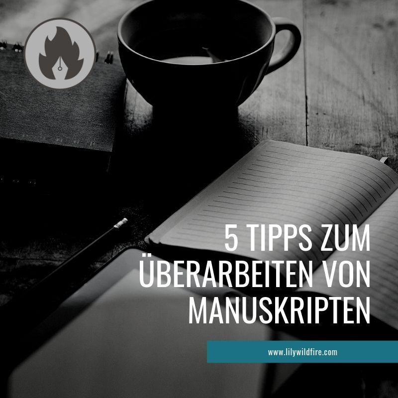 Bloggrafik: Überarbeiten von Romanen, Kurzgeschichten und anderen Texten.